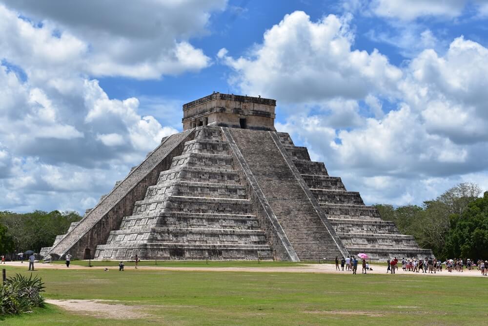 Ruínas Maia em Chichén Itzá
