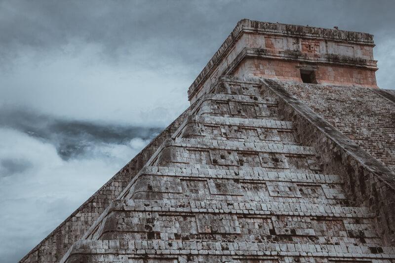 Templo de Kukulcán um dos pontos principais de Chichén Itzá